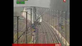 TGV, record de vitesse : 574,8 km/h (03/04/2007)