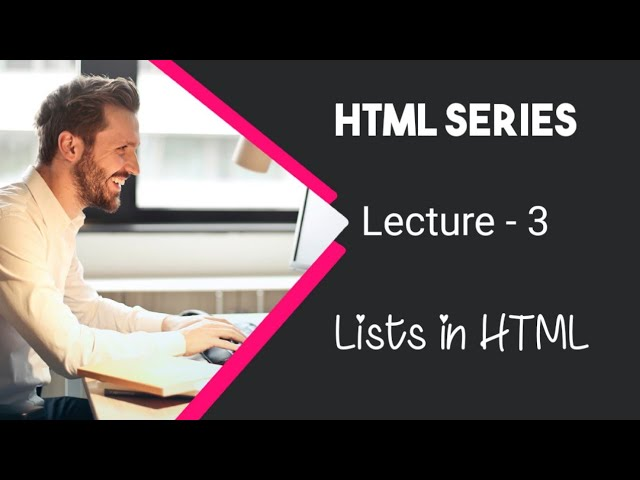 Learn HTML in Urdu / Hindi by AK - Lists in HTML - Lecture 3