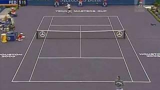 roger federer vs andre agassi 2003 only the tennis 1 2