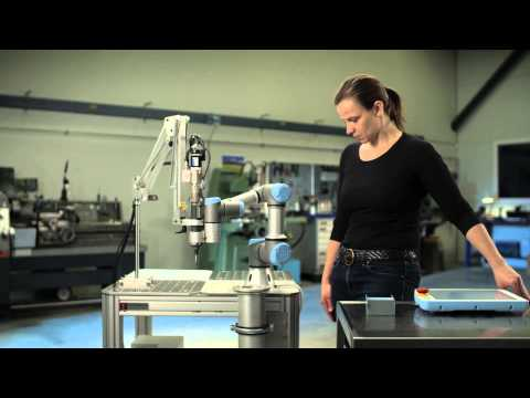 Presentation of UR3: The world's most flexible, light-weight table-top robot