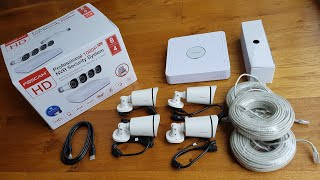 Unboxing and setup of a Foscam FN7108E-B4-2T - POE Full HD 1080p CCTV