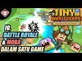 IO, MOBA & BATTLE ROYALE DALAM 1 GAME - Tiny Battleground - Android Games Reviews