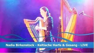 Nadia Birkenstock - Keltische Harfe und Gesang - Promo-Trailer (deutsch)