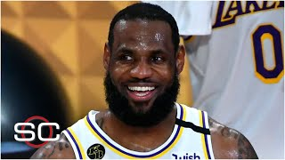 LeBron agrees to 2-year, $85M extension with the Lakers | SportsCenter