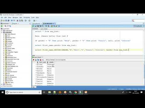Oracle SQL Tutorial - If Condition Using Decode And Case Statements