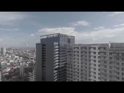 Makati's Best Condominium Investment for only P13k/month. an AyalaLand Company (Drone City Shot 1)