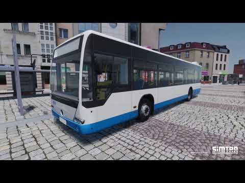 Simtra Bus & Coach Simulator - first video  