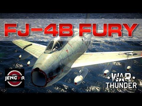 War Thunder Realistic: FJ-4B Fury [Rocket Galore!]