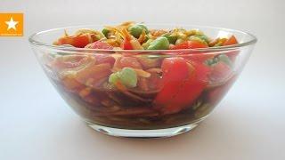 Диета! Самый вкусный белковый салат из бобов с необычной заправкой от Мармеладной Лисицы
