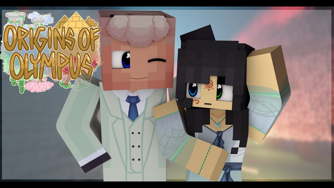 "Minecraft Origins of Olympus ""We Are Kinda Similar""#16(Minecraft Percy Jackson Roleplay)"