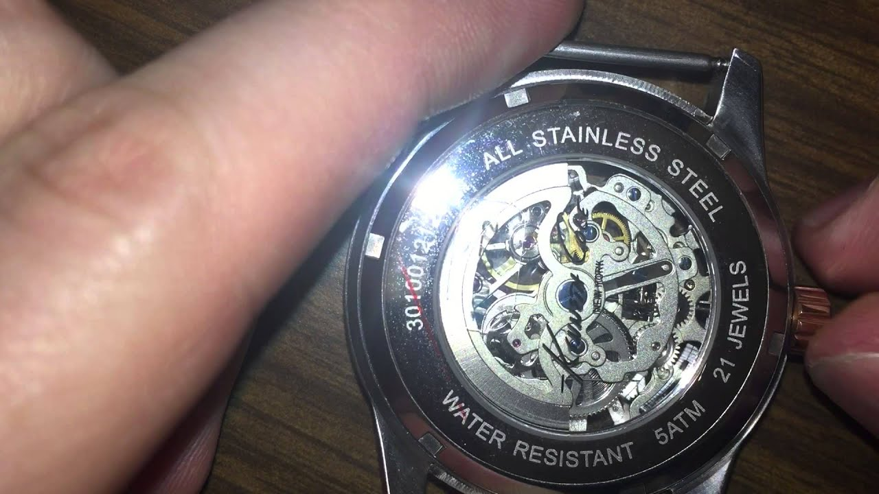 what happens when you wind a mechanical watch the wrong way youtube rh youtube com how much to wind mechanical watch how much to wind mechanical watch