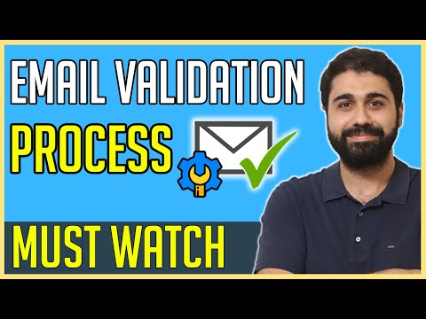 Email Validation Process: How Email Verification Really Works?  The Concept Behind Verifying Emails