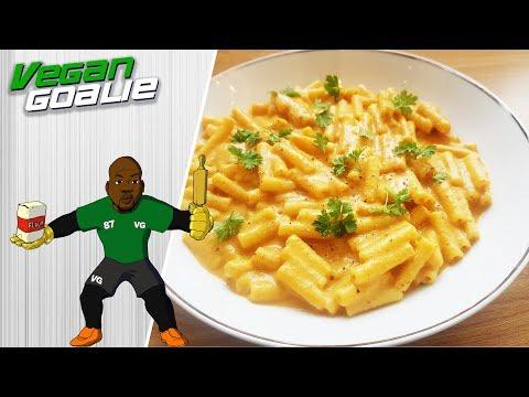 Easy Vegan Cheesy Butternut Squash Pasta