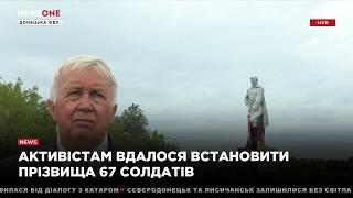 В Донецкой области открыт обновленный мемориал погибшим в Великой Отечественной войне