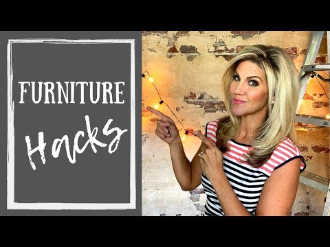 Make Your Furniture Work For You (Repurposed Furniture)