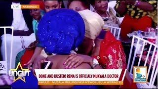 Rema  in an Emotional Hug with Halima Namakula as She Sends her off into Marriage| Uncut