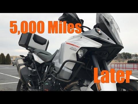 KTM 1290 Super Adventure 5,000 Mile Update