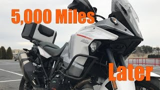 KTM 1290 Super Adventure 5,000 Mile Update