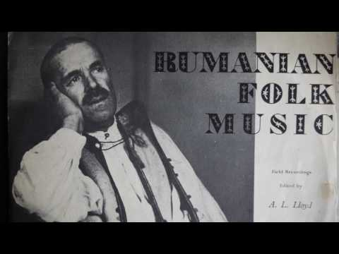 Fish-Scale of a Carp as a Music Instrument - Rumanian Folk Music (1958) Topic 10T12