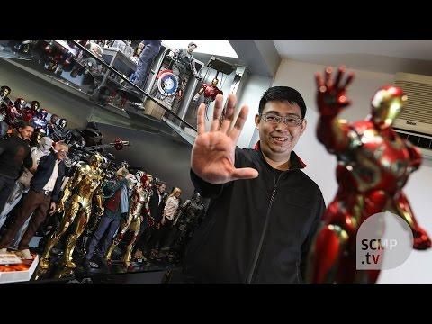 Inside the secret hideout of a Hong Kong superhero fanatic
