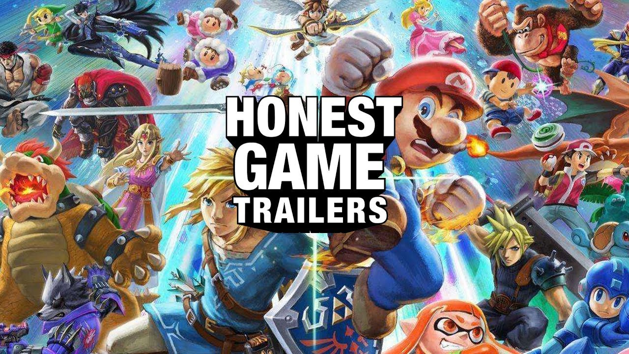 Honest Game Trailers | Super Smash Bros. Ultimate thumbnail