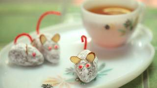 White Chocolate Ginger Mice Truffles Recipe || Kin Eats