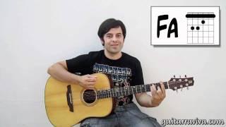 LECCION 10 - INICIACION GUITARRA ACÚSTICA - CURSO COMO TOCAR GUITARRA COMO PONER CEJILLA thumbnail