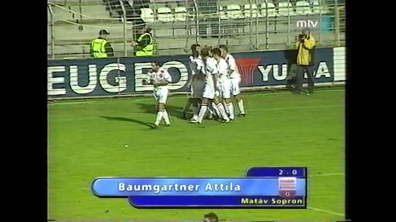 Sopron-Pécs | 3-1 | 2003. 08. 31 | MLSZ TV Archív