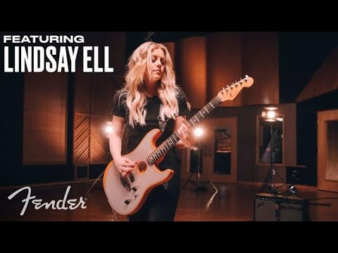 Lindsay Ell | American Acoustasonic Stratocaster | Fender from YouTube · Duration:  3 minutes 46 seconds