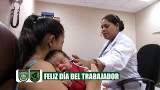 """Hospital Militar """"Dr. Alejandro Dávila Bolaños"""" felicita a los trabajadores."""