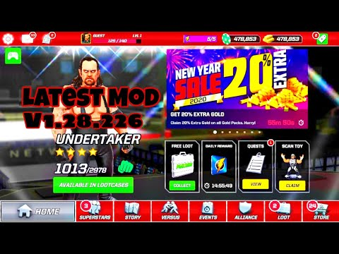 Download WWE Mayhem Mod Apk |Unlimited Money And Gold