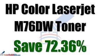 How to refill HP M476DW toner cartridge