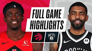 RAPTORS at NETS | FULL GAME HIGHLIGHTS | February 5, 2021