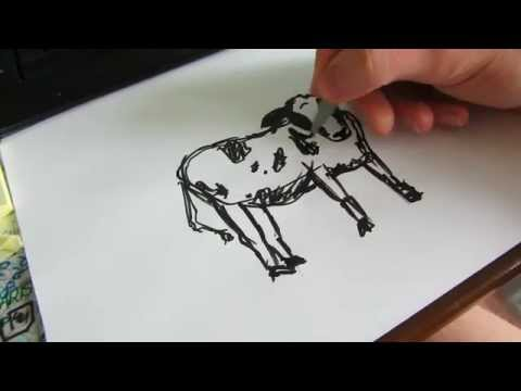 how-to-draw-a-cow---how-to-draw-simple-things,-episode-01