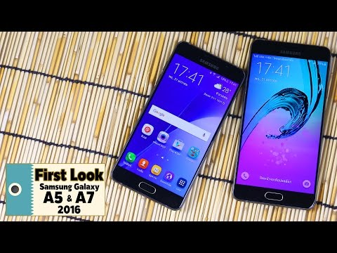 First Look : Samsung Galaxy A5 2016 & A7 2016