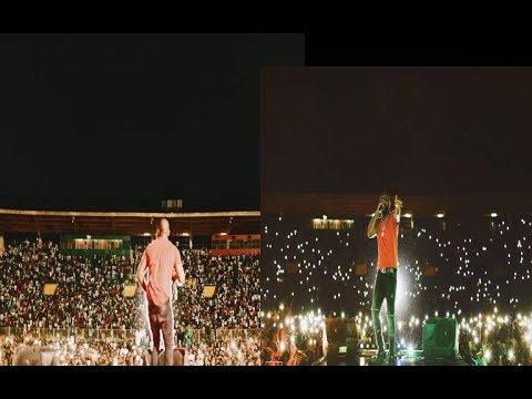 70000 Fans Turn Up as Davido Shut Down Mali For #30BillionWorldTour