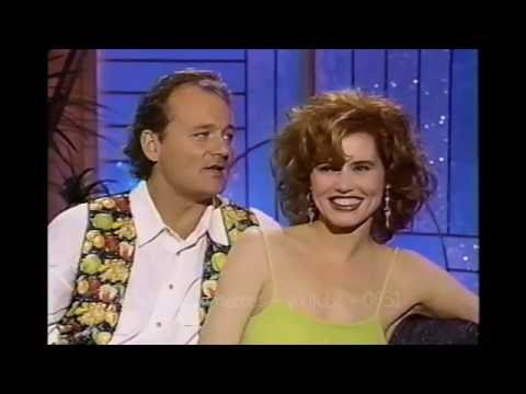 BILL MURRAY & GEENA DAVIS Have FUN With ARSENIO