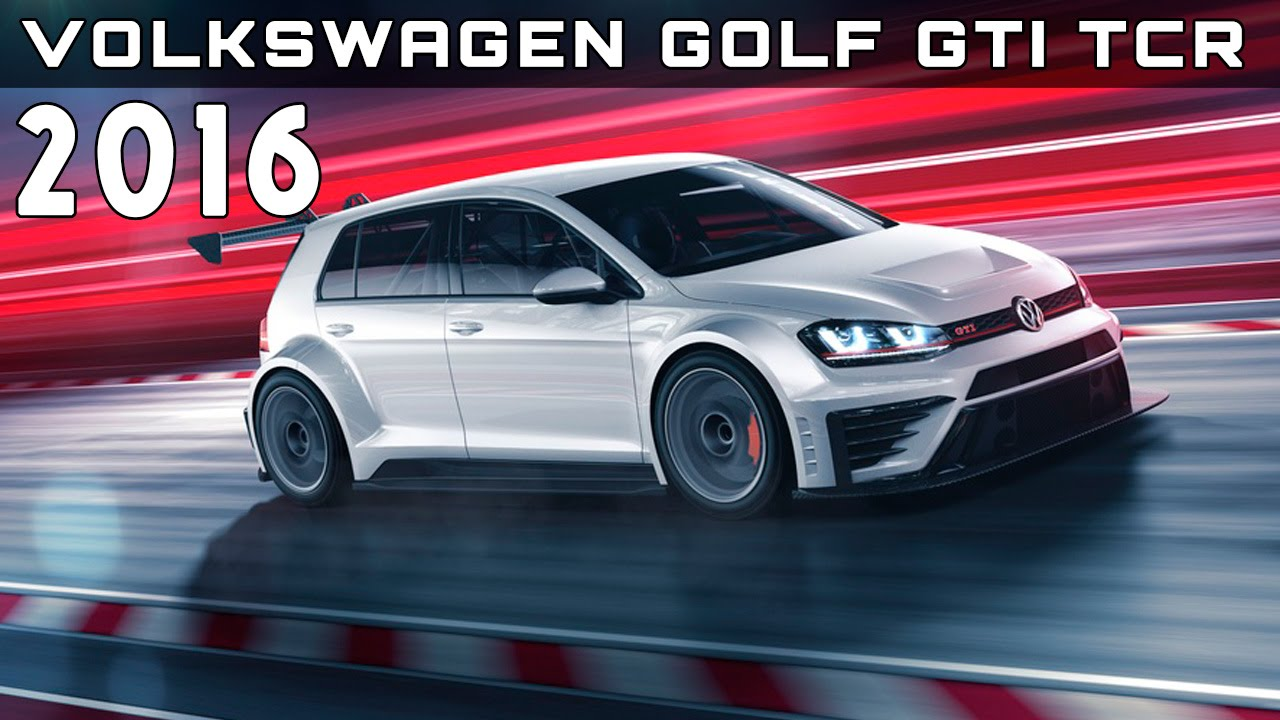 2016 volkswagen golf gti tcr review rendered price specs. Black Bedroom Furniture Sets. Home Design Ideas