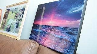 Como encapsular un cuadro o fotografía con Resina/ How to encapsulate a photo with resin -Loveluzlop