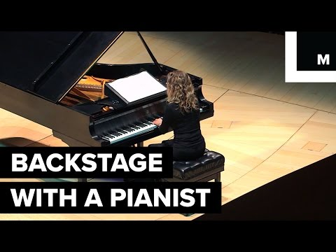 Backstage with a Pianist  How She Works
