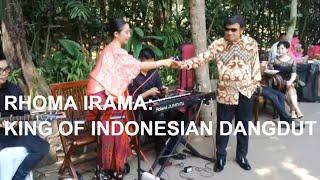 GAWAT RHOMA IRAMA NYANYI LAGU POP DI ACARA KONDANGAN; RIFQI CNN INDONESIA