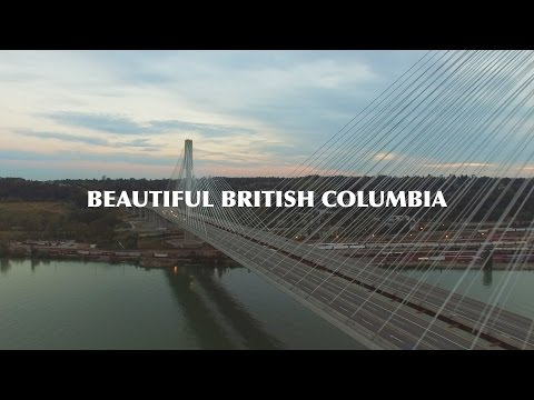 Beautiful British Columbia. Vancouver City. Shot in 4k