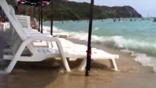 Как то так может выглядеть рай? :)(Жара. Море. Лежаки. Остров Ко Ларн., 2011-02-18T08:26:01.000Z)