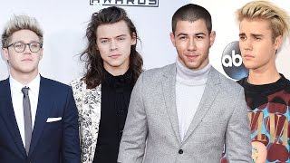 One Direction, Justin Bieber & 5SOS Red Carpet Style at 2015 AMAs