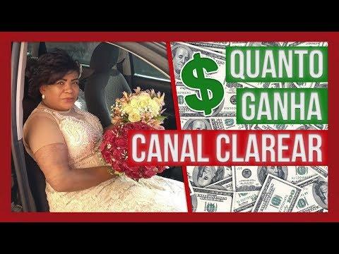QUANTO GANHA Canal Clarear ATUAL