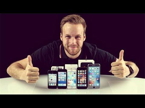 iPhone SE vs iPhone 6s vs iPhone 6S plus vs iPhone5 comparison