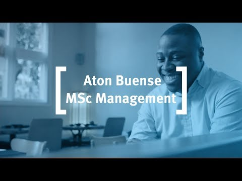 MSc in Management at Cass Business School