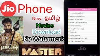 How to Download New Tamil Movies No Watermark in Jio Phone | Mookuthi Amman and Soorarai Pottru