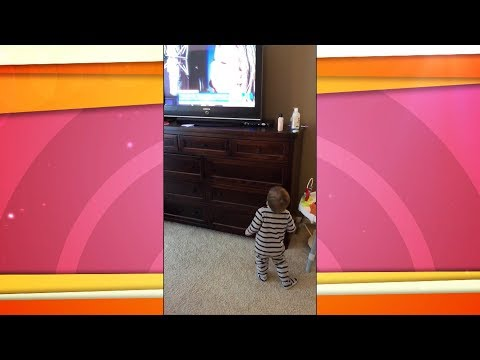 Watch this little boy dance to 'I've Loved You Since Forever'