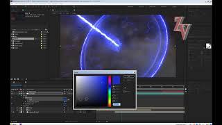 Молния с логотипом Автор эффект Small Energy Intro Edit for After Effects tutorial (no plug-ins!)